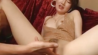 Kinky Tanaka gets fisted_toyed and fucked hard in different poses image