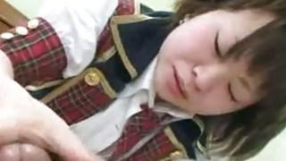 Mayu Nakane Japan SchoolGirl Hairy Pussy Plugged image
