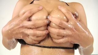 Yurizan Beltran - Tits Fuck and Sex from a Latina with Big Tits image