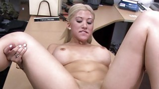 Busty stripper banged by horny pawn guy image