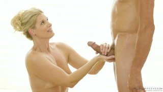 Skilled masseur India Summer knows how to make her client fully satisfied image