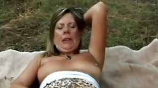 Slutty granny looks amazing with fifthly cum face image