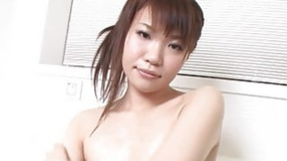 Sex with busty oriental angel image