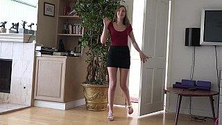 Perfect footjob teen image