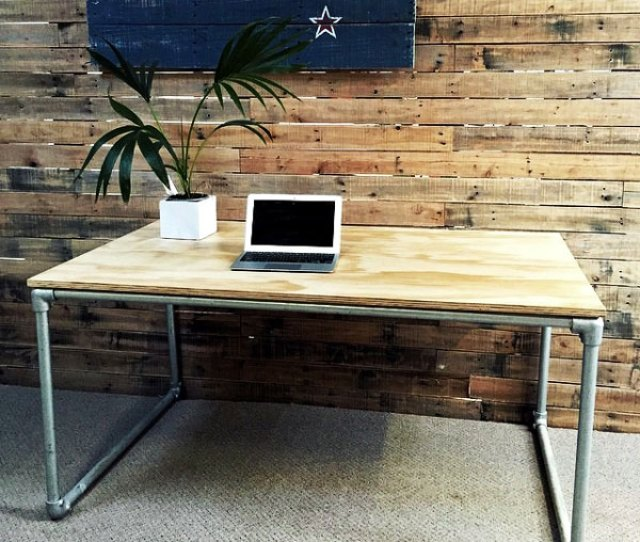 Are You Interested In Building Your Own Plywood Desk