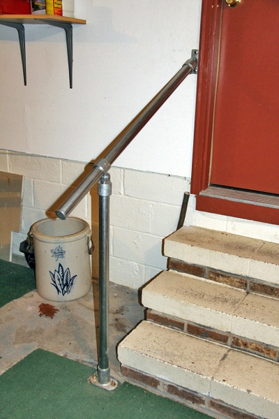 15 Customer Railing Examples For Concrete Steps Simplified Building   Handrails For Concrete Steps   Deck Stair   Ada   Wood   7 Hand   Concrete Entrance