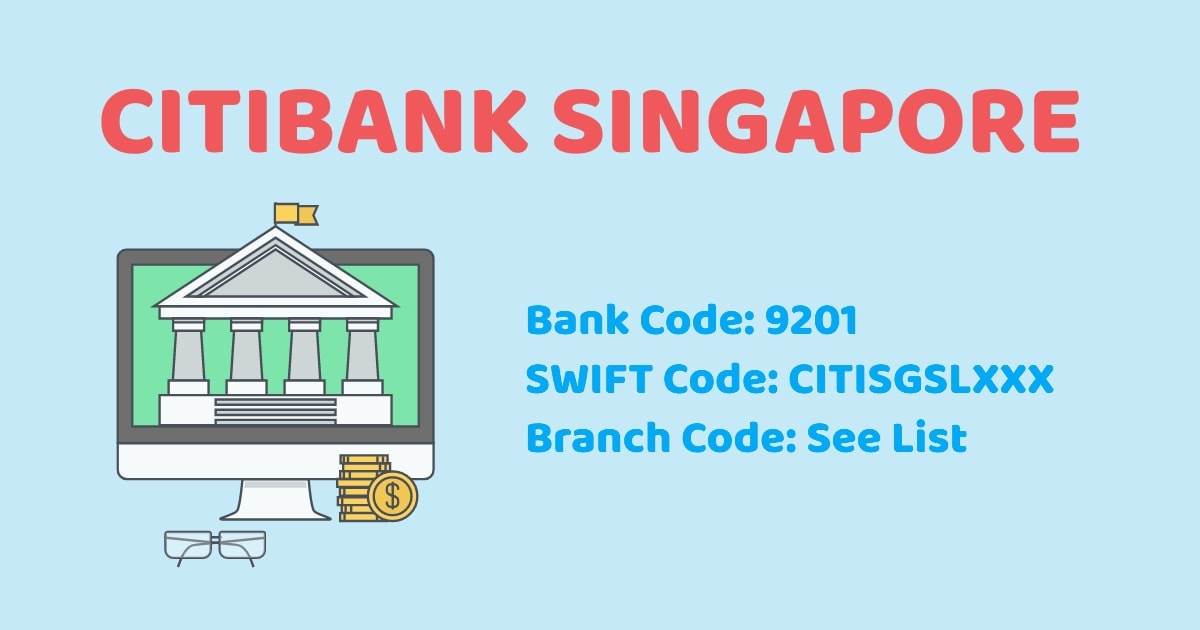 Dbs Bank Code . Citibank Sg Branch Code Bank Code Swift Code Singapore Bank