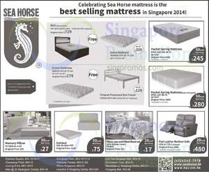 Sea Horse Mattresses Sofa Offers 3 17 Sep 2017