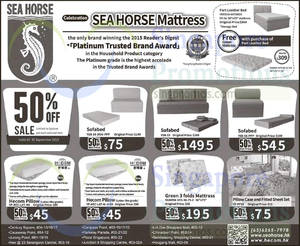 Sea Horse 50 Off Selected Items 24 30 Sep 2017