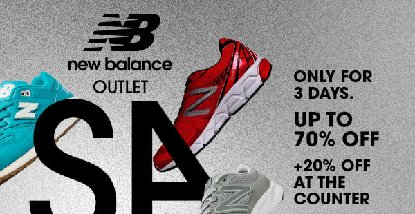 new balance outlet sale