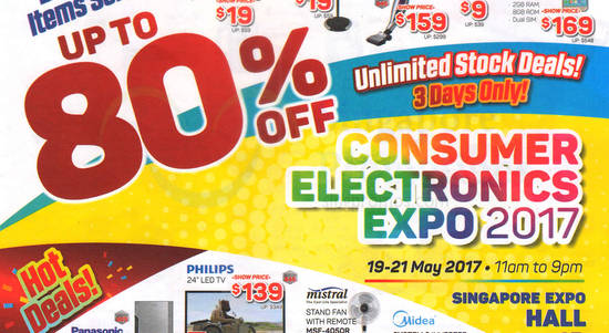 Consumer Electronics Expo feat 10 May 2017