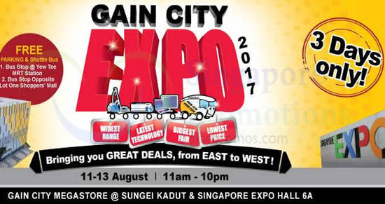 Gain City Expo 10 Aug 2017