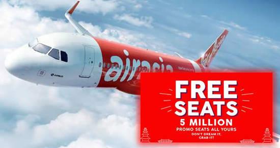 Air Asia FREE 13 Nov 2017