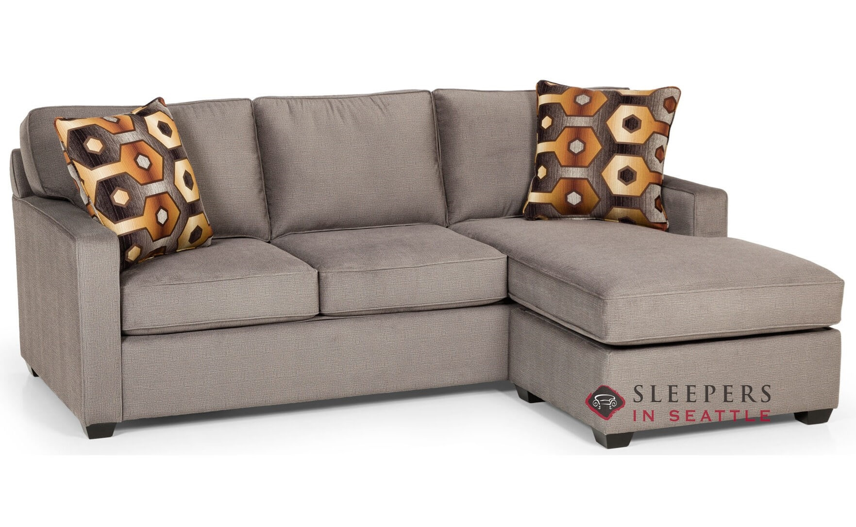 The Stanton 403 Chaise Sectional Queen Sleeper Sofa With Storage