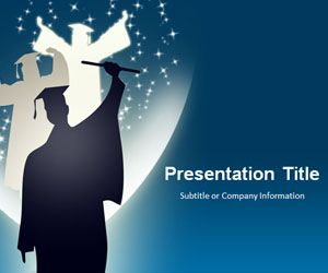 Free Graduation PowerPoint Template Free PowerPoint Templates