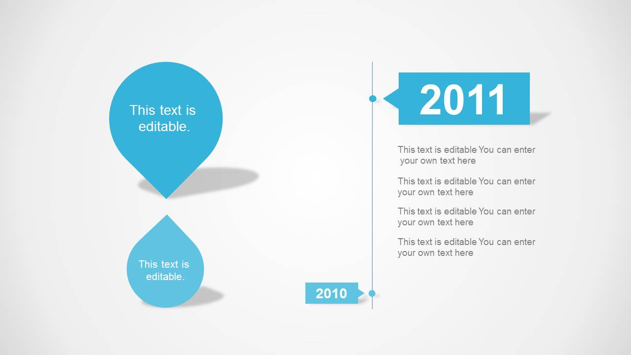 Clean Timeline Template For Powerpoint Slidemodel