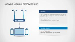 Network Diagram Template for PowerPoint  SlideModel