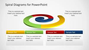 Colorful Spiral Diagrams for PowerPoint  SlideModel