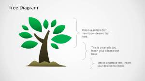 Tree Diagram Illustration for PowerPoint  SlideModel