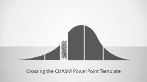 Crossing The Chasm PowerPoint Icon  SlideModel