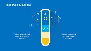 Flat Test Tube Infographic PowerPoint Diagram  SlideModel