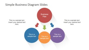 Simple Business Diagrams Slides for PowerPoint  SlideModel