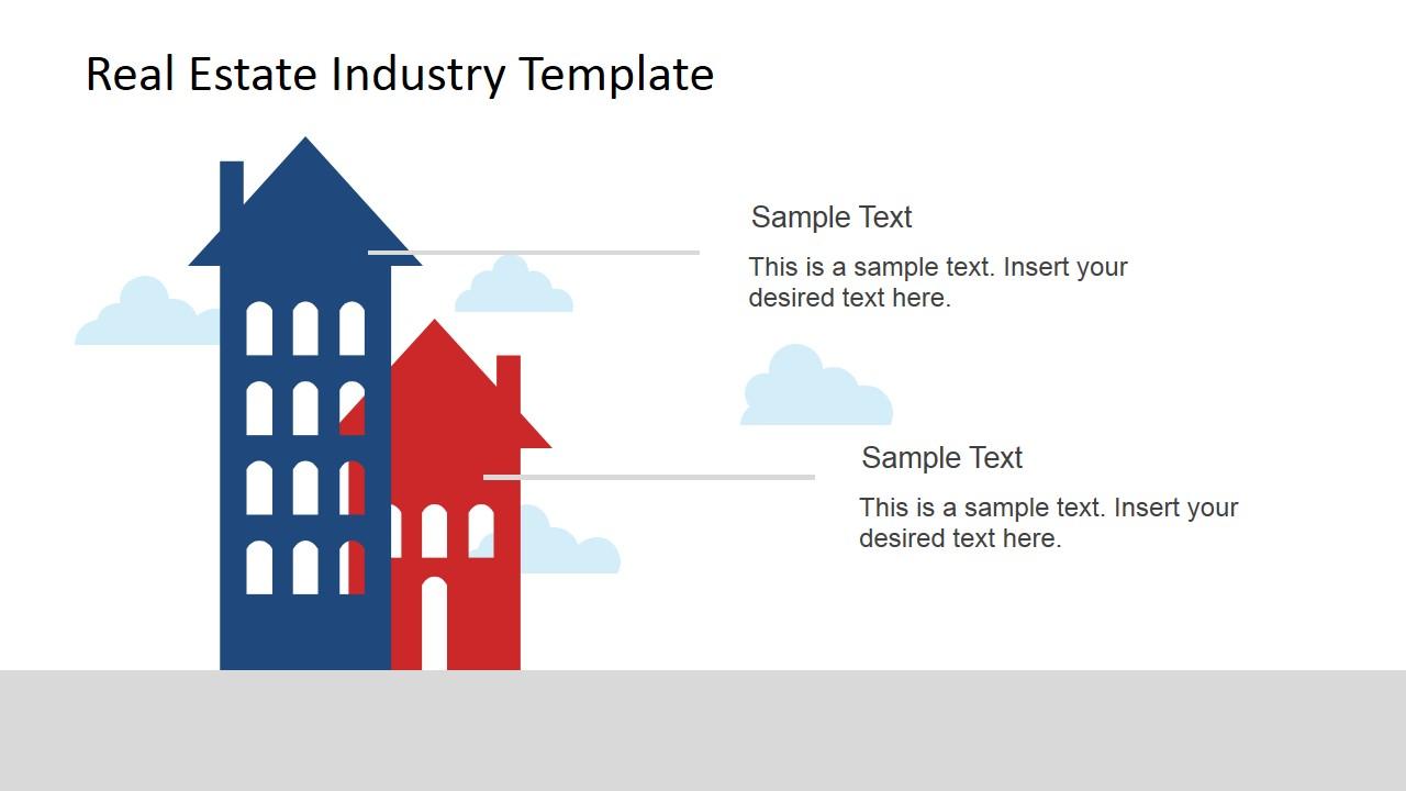 Real Estate Industry Powerpoint Template Slidemodel