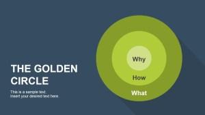 The Golden Circle PowerPoint Diagram  SlideModel
