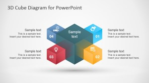3D Cube Diagram Template for PowerPoint  SlideModel