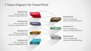 7 Steps Diagram Design for PowerPoint  SlideModel