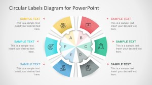 Circular Labels Six Steps PowerPoint Diagram  SlideModel