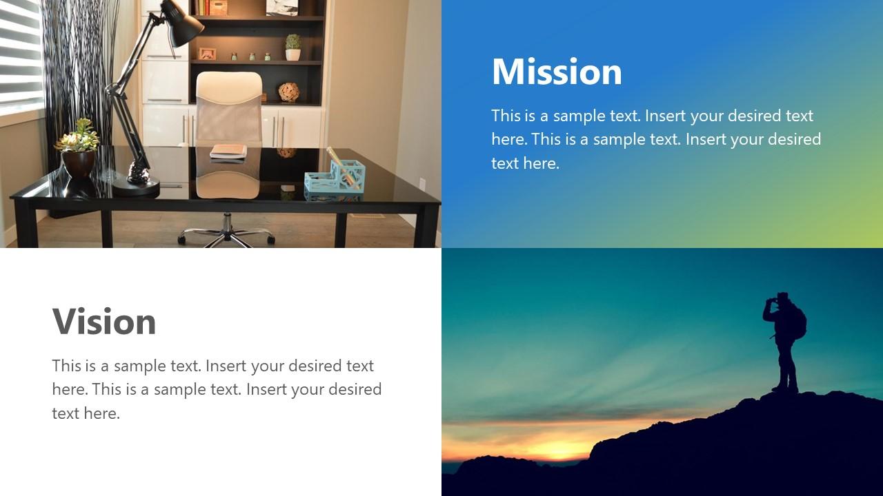 Individual Vision And Mission Ppt Slidemodel