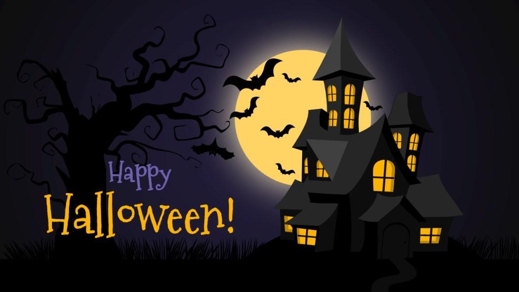 Halloween Powerpoint Template Free Hallowen