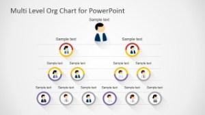 Free MultiLevel Org Chart for PowerPoint  SlideModel