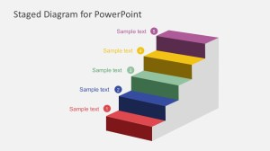 Free Staged Diagram PowerPoint Template