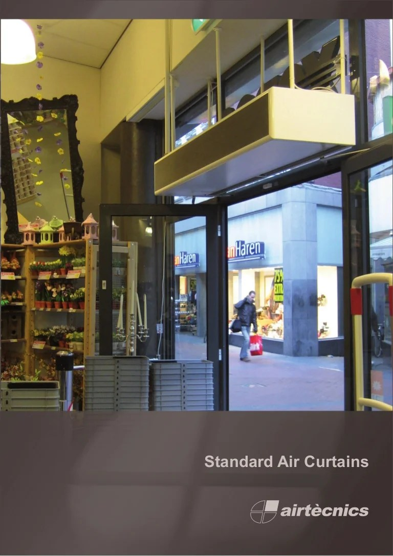 standard air curtains catalogue