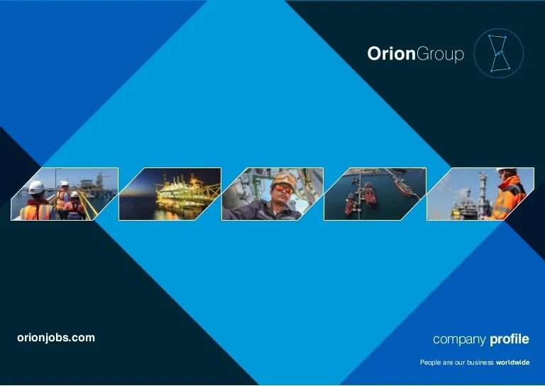 Orion Group Company Profile