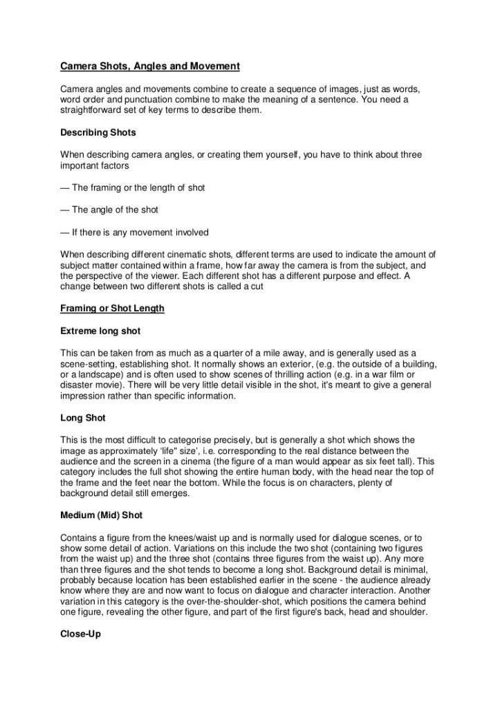Framing Shot Meaning | Viewframes.org