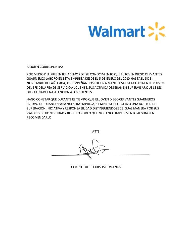 Carta Una Hacer Recomendacion De Como Para Inmigracion