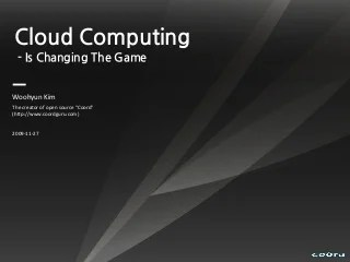 Trend and Future of Cloud Computing