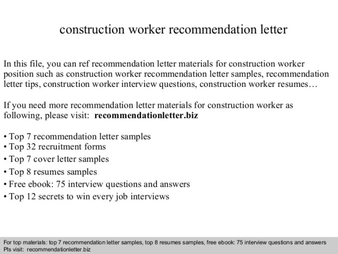 Edwards construction recommendation letter sincerely craig williams construction recommendation letter newsinvitationco expocarfo Gallery