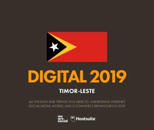 Digital  Timor Leste January  V