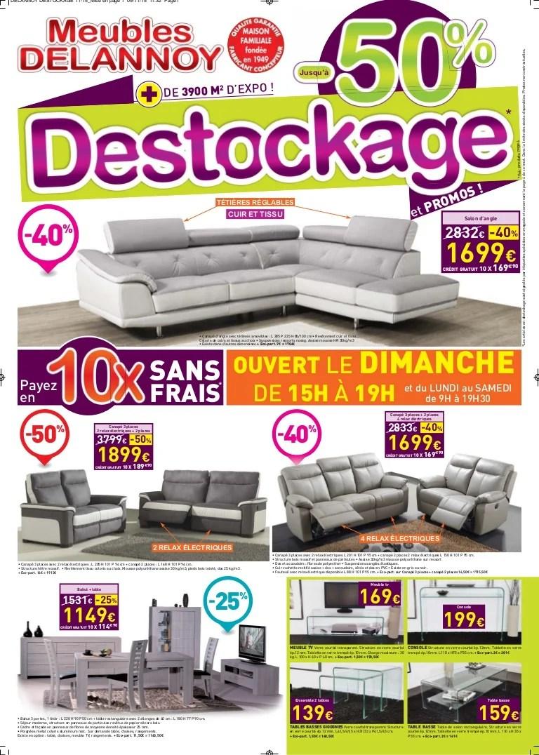 meubles delannoy destockage 2015