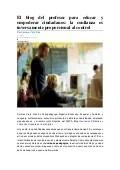 El blog del profesor para educar y empoderar ciudadanos :la confianza es inversamente proporcional al control