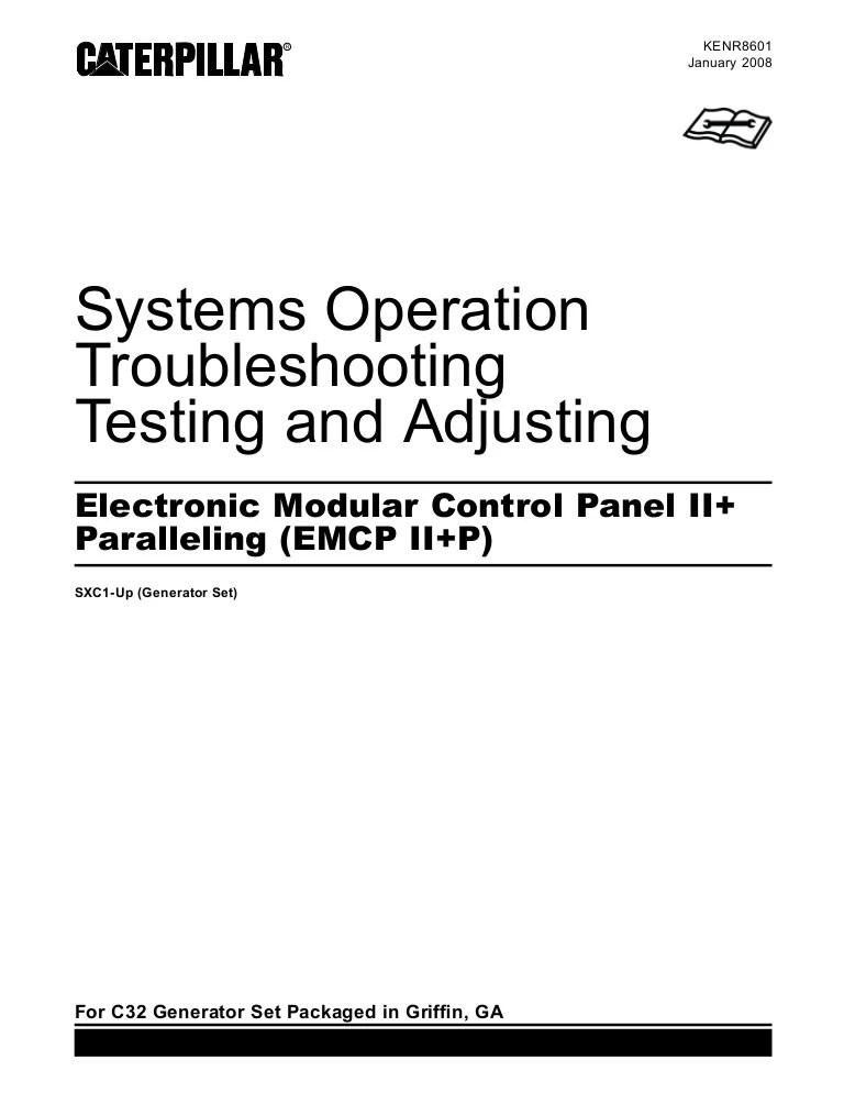 Electronic modular control panel ii  paralleling emcp ii