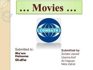 English presentation 1 (movies)