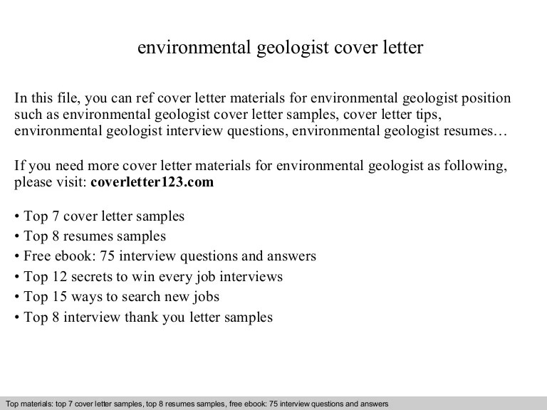 Engineering Geology Cover Letter | mamiihondenk.org