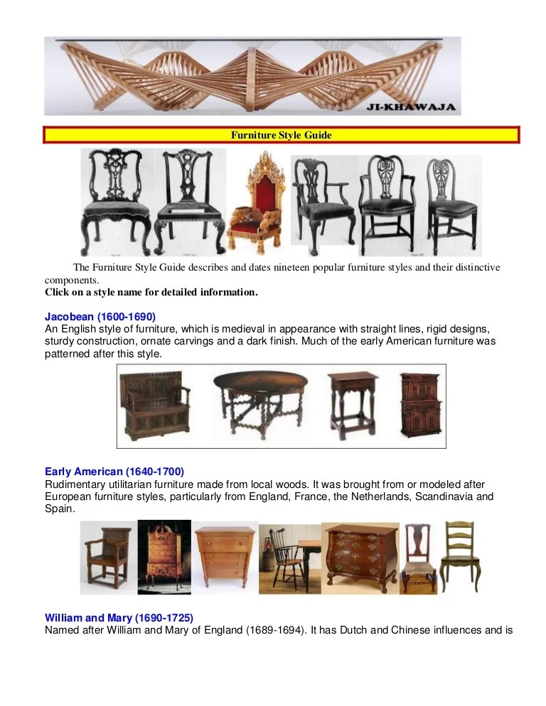 Furniture style guid on Furniture Style  id=29526