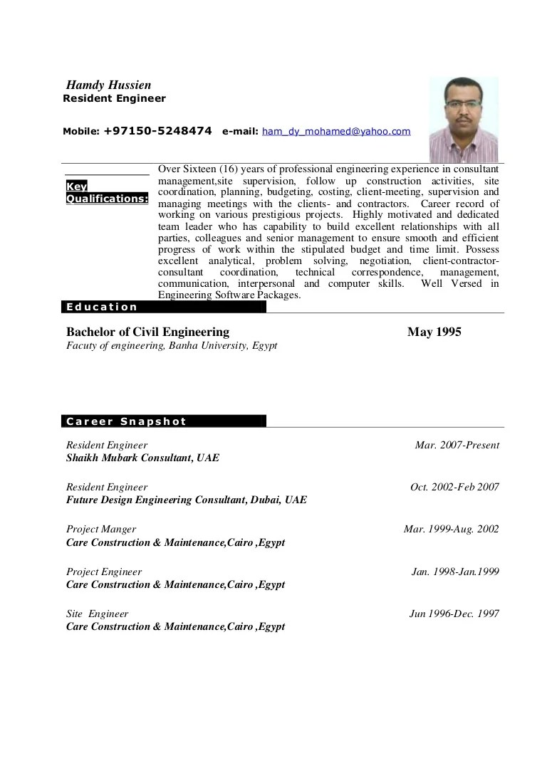 Image Result For Resume Sample Word