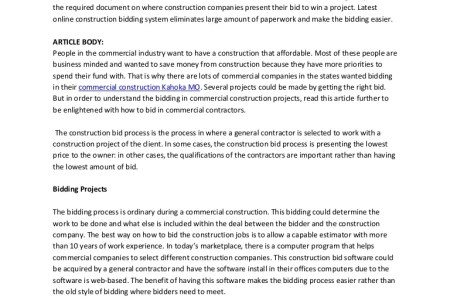 construction bid app estimate worksheet template bid quote